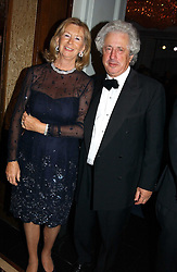 SIR MARTYN & LADY ARBIB at the 2004 Cartier Racing Awards in association with the Daily Telegraph, held at the Four Seasons Hotel, London on 17th November 2004.<br />