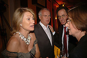 Mr. and Mrs. Paul Myners and John Jay, Veuve Cliquot Award.- Business Woman of the Year. claridge's. London. 27 April 2006. ONE TIME USE ONLY - DO NOT ARCHIVE  © Copyright Photograph by Dafydd Jones 66 Stockwell Park Rd. London SW9 0DA Tel 020 7733 0108 www.dafjones.com
