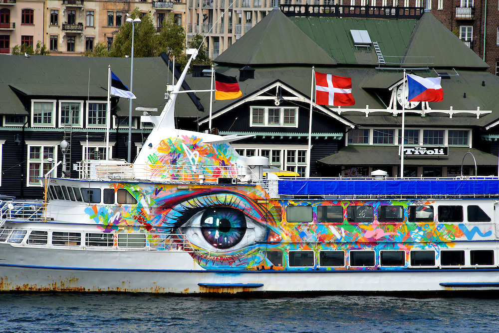 massive work cool colors. Giant Eye Mural On Side Of Ship In Helsingborg, Sweden \u003cbr /\u003e This. Massive Work Cool Colors