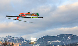 06.01.2016, Paul Ausserleitner Schanze, Bischofshofen, AUT, FIS Weltcup Ski Sprung, Vierschanzentournee, Bischofshofen, Probedurchgang, im Bild Peter Prevc (SLO) // Peter Prevc of Slovenia during his trial jump of the Four Hills Tournament of FIS Ski Jumping World Cup at the Paul Ausserleitner Schanze in Bischofshofen, Austria on 2016/01/06. EXPA Pictures © 2016, PhotoCredit: EXPA/ JFK