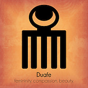 Duafe: femininity. compassion. beauty.<br />