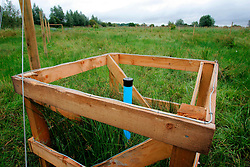 UK ENGLAND CAMBRIDGESHIRE WICKEN 7AUG06 - Water level logging equipment at a data logging exclosure in the Wicken Fen National Nature Reserve, managed by the National Trust is one of Britain's oldest nature reserve dating back to the late 1800s...jre/Photo by Jiri Rezac..© Jiri Rezac 2006..Contact: +44 (0) 7050 110 417.Mobile:  +44 (0) 7801 337 683.Office:  +44 (0) 20 8968 9635..Email:   jiri@jirirezac.com.Web:    www.jirirezac.com..© All images Jiri Rezac 2006 - All rights reserved.