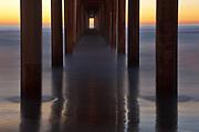 Twilight at Scripps Pier, La Jolla, California  2010