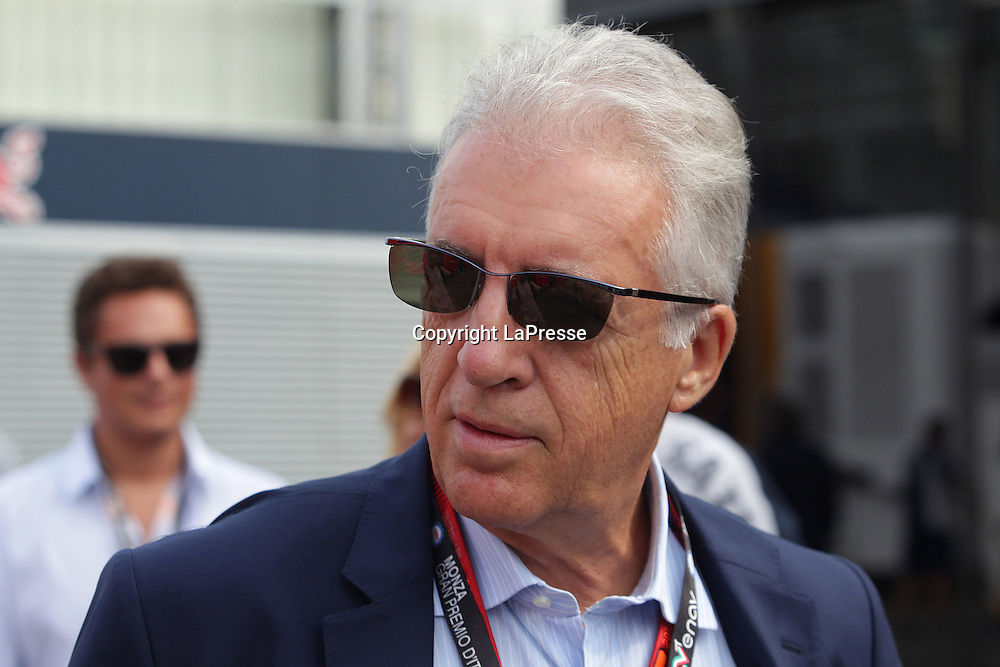 &copy; Photo4 / LaPresse<br /> 04/09/2016 Monza, Italy<br /> Sport <br /> Grand Prix Formula One Italia 2016<br /> In the pic: Piero Ferrari (ITA) Vice-President Ferrari