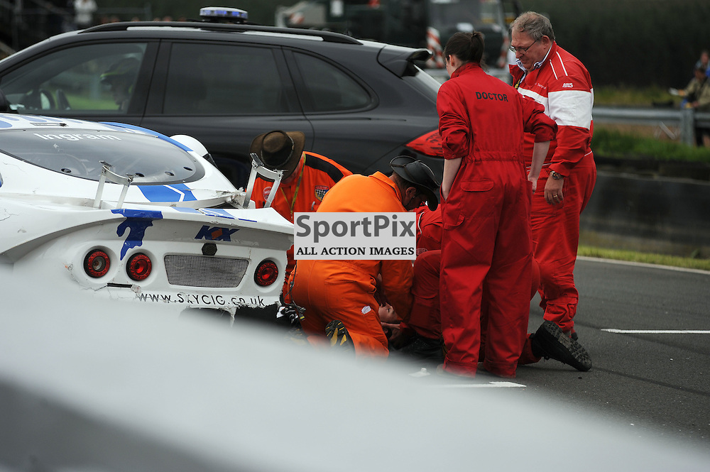Ginetta GT Supercup, Knockhill, 26 August 2012..Tom Ingram..(c) David Wardle | StockPix.eu
