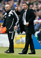 Photo: Steve Bond/Richard Lane Photography. Leicester City v Peterborough United. Coca-Cola Football League One. 20/12/2008. Darren Ferguson on the touchline