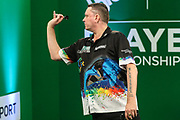 Kevin Painter during the PDC Darts Players Championship at  at Butlins Minehead, Minehead, United Kingdom on 24 November 2017. Photo by Shane Healey.