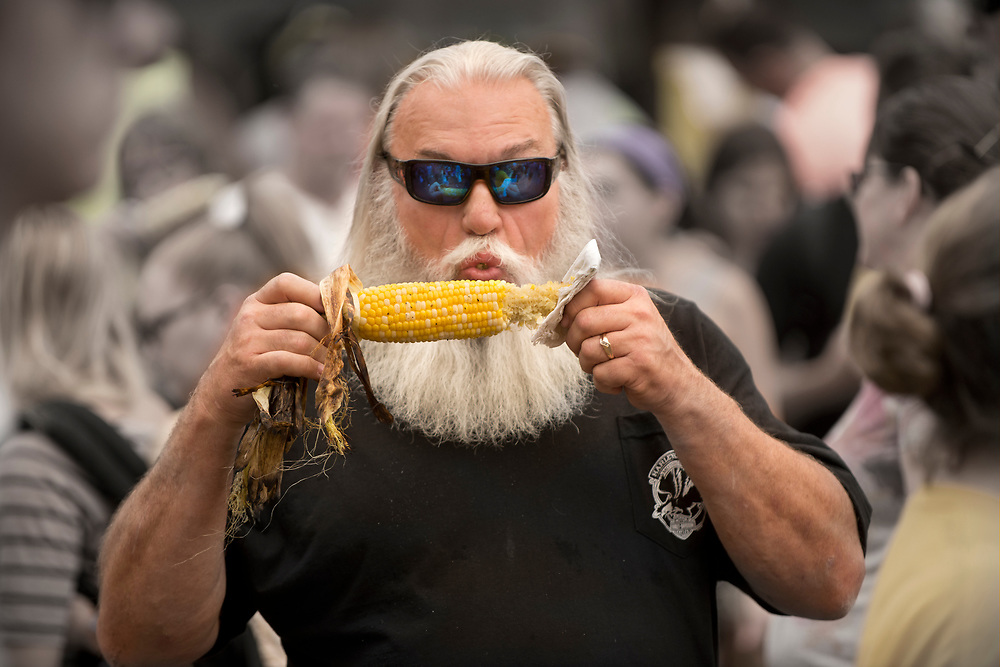Eating sweet corn and the Minnesota State Fair