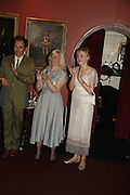 MARK RYALANCE, CLAIRE VAN KAMPEN AND JULIET RYLANCE, Vanessa Redgrave and Thelma Holt host a reception at the<br />