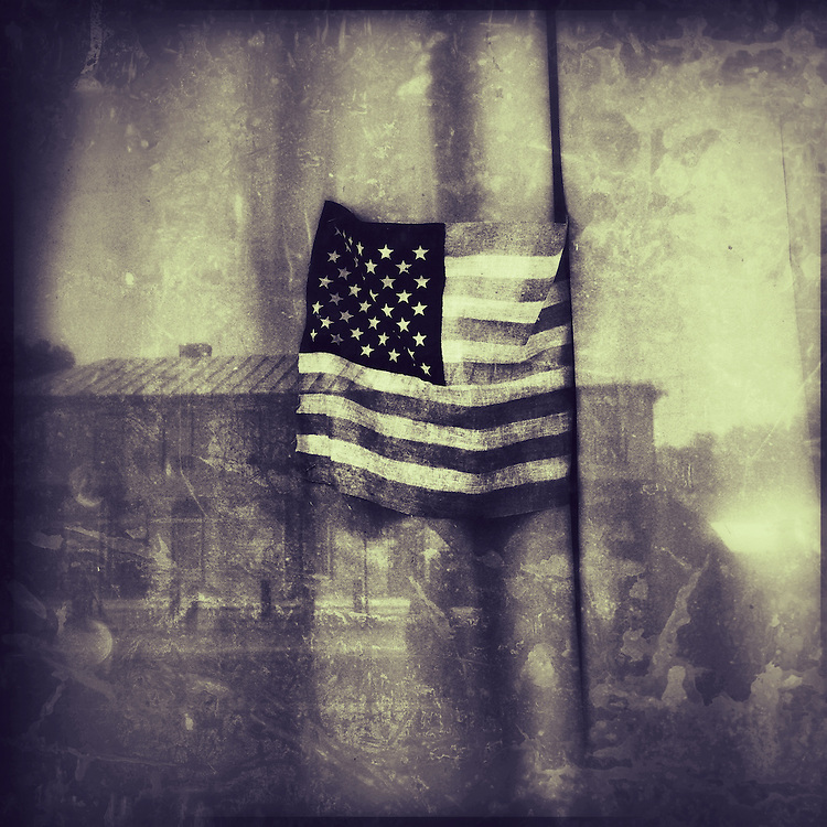 Americana.<br /> <br /> Flag, Corwin, Ohio.