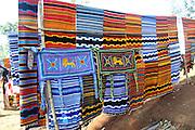 Africa, Ethiopia, Omo region, Chencha village, Dorze tribe hand woven fabric