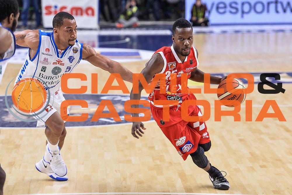 Ronald Moore<br /> Banco di Sardegna Dinamo Sassari - The Flexx Pistoia Basket<br /> Legabasket Serie A LBA Poste Mobile 2016/2017<br /> Sassari 04/03/2017