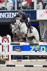Ansems Jack (NED) - Remmits Delphi<br /> Final 6 years<br /> FEI World Breeding Jumping Championships for Young Horses - Lanaken 2014<br /> © Dirk Caremans