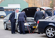 Enschede, 22-11-2016 <br /> <br /> <br /> Queen Maxima attends digital Workshop. The Queen met nine entrepreneurs on three themes:  Financing<br /> ,Small Businesses and entrepreneurs who have grown thanks to online.<br /> <br /> <br /> PROBLEMS WITH FOLLOW UP CAR<br /> <br /> COPYRIGHT ROYALPORTRAITS EUROPE/ BERNARD RUEBSAMEN