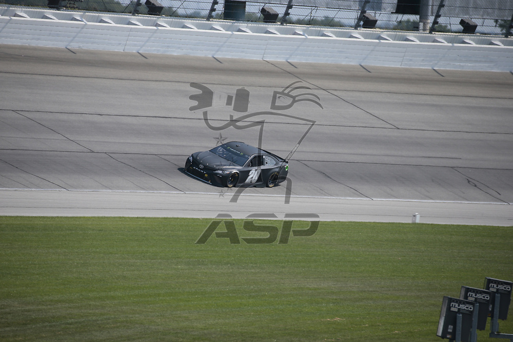August 16, 2017 - Joliet, Illinois, USA: The Monster Energy NASCAR Cup Series teams take to the track during the Chicagoland Speedway Open Test at Chicagoland Speedway in Joliet, Illinois.