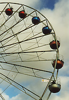 Big wheel at a carnival
