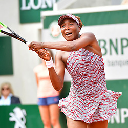 Venus Williams during Day 1 of the the French Open at Roland Garros on May 27, 2018 in Paris, France. (Photo by Dave Winter/Icon Sport)