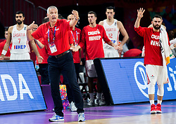 Aleksandar Aco Petrovic, head coach of Croatia during basketball match between National Teams of Croatia and Russia at Day 11 in Round of 16 of the FIBA EuroBasket 2017 at Sinan Erdem Dome in Istanbul, Turkey on September 10, 2017. Photo by Vid Ponikvar / Sportida