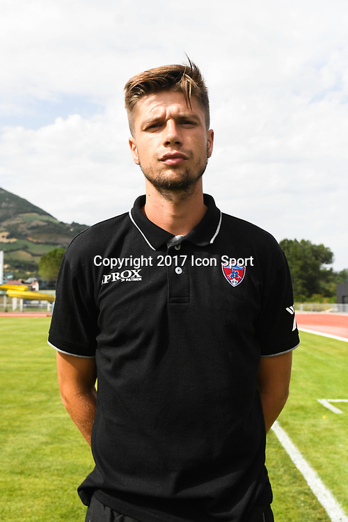 Manuel Perez of Clermont during the friendly match between Montpellier Herault and Clermont foot on July 19, 2017 in Millau, France. (Photo by Philippe Le Brech/Icon Sport)