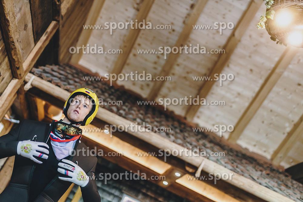 18.01.2020, Hochfirstschanze, Titisee Neustadt, GER, FIS Weltcup Ski Sprung, im Bild Evgeniy Klimov (RUS) // Evgeniy Klimov of Russian Federation during the FIS Ski Jumping World Cup at the Hochfirstschanze in Titisee Neustadt, Germany on 2020/01/18. EXPA Pictures © 2020, PhotoCredit: EXPA/ JFK