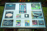 The Galaxy Garden, Paleaku Gardens Peace Sanctuary, Kona Coast, The Big Island, Hawaii USA