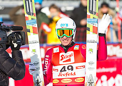 19.12.2011, Casino Arena, Seefeld, AUT, FIS Nordische Kombination, Ski Springen HS 109, im Bild Tino Edelmann (GER) // Tino Edelmann of Germany during Ski jumping at FIS Nordic Combined World Cup in Sefeld, Austria on 20111211. EXPA Pictures © 2011, PhotoCredit: EXPA/ P.Rinderer