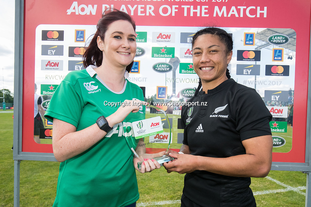 2017 Women's Rugby World Cup Pool A, Billings Park, UCD, Dublin 9/8/2017<br />