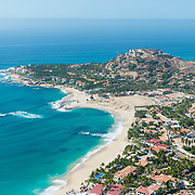 Aerial view of Palmilla. San Jose del cabo, Mexico.