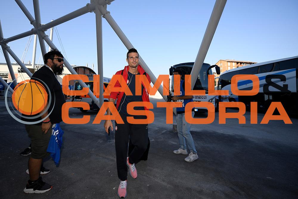 Cinciarini Andrea<br /> A|X Armani Exchange Milano - Fiat Torino<br /> Zurich Connect Supercoppa 2018-2019<br /> Lega Basket Serie A<br /> Brescia 30/09/2018<br /> Foto Ciamillo & Castoria