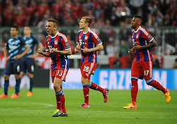 21.04.2015, Allianz Arena, Muenchen, GER, UEFA CL, FC Bayern Muenchen vs FC Porto, im Bild <br /> FC Bayern Muenchen - FC Porto, Fussball, Champions League, Viertelfinale, Rueckspiel, 21.04.2015, Foto: Stuetzle/Eibner // during the UEFA Semi Final 2nd Leg Match between FC Bayern Munich and FC Porto at the Allianz Arena in Muenchen, Germany on 2015/04/21. EXPA Pictures &copy; 2015, PhotoCredit: EXPA/ Eibner-Pressefoto/ Stuetzle<br /> <br /> *****ATTENTION - OUT of GER*****