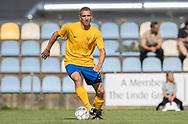 Christian Paaske (Ølstykke FC) under kampen i Serie 2 mellem Ølstykke FC og Ejby IF den 7. september 2019 på Ølstykke Stadion. Foto: Claus Birch.