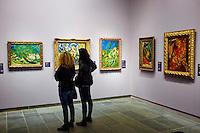 France, Paris (75), zone classée Patrimoine Mondial de l'UNESCO, les Tuileries, le musée de l'Orangerie, Salle Chaïm Soutine  // France, Paris, les Tuileries, museum of Orangerie, Chaïm Soutine painting