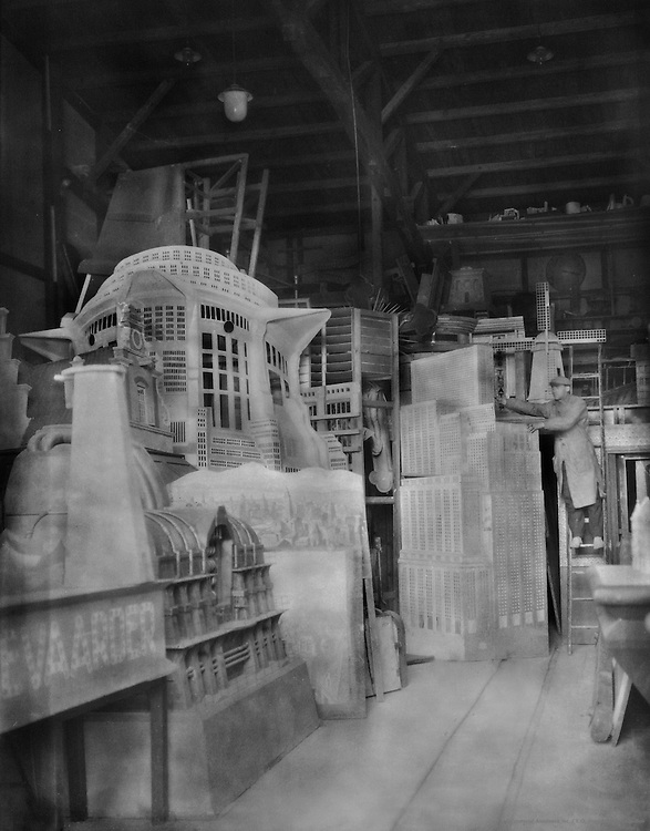 Scenery, Crafts and Trades, UFA Studios, Potsdam-Babelsberg, 1928