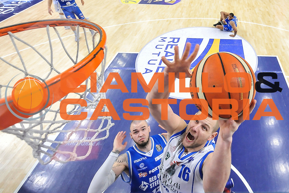 Tautvydas Lydeka<br /> Banco di Sardegna Dinamo Sassari - Red October Pallacanestro Cantù<br /> LegaBasket Serie A Poste Mobile 2016/2017<br /> Sassari 12/02/2017<br /> Foto Ciamillo-Castoria