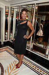 Athlete DENISE LEWIS at the inaugural Stephen Lawrence Memorial Ball held at The Dorchester, Park Lane, London on 17th October 2013.