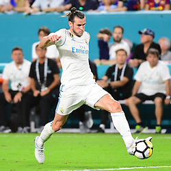 Gareth Bale of Real Madrid during the International Champions Cup match between Barcelona and Real Madrid at Hard Rock Stadium on July 29, 2017 in Miami Gardens, Florida. (Photo by Dave Winter/Icon Sport)