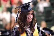 Valedictorian Corinn Herrick is recognized during the 29th annual Kettering Fairmont High School commencement at the Nutter Center in Fairborn, Thursday, May 31, 2012.