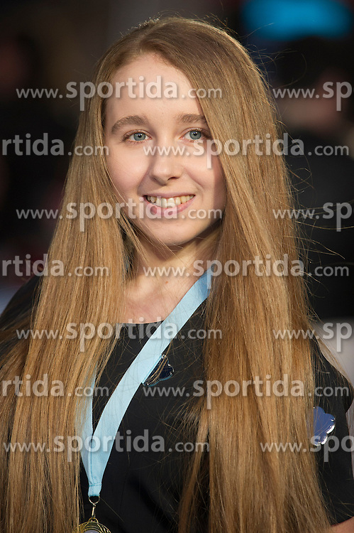 Afton McKeith-Magaziner attends the European premiere for &quot;Eddie the Eagle at Odeon Leicester Square in London, 17.03.2016. EXPA Pictures &copy; 2016, PhotoCredit: EXPA/ Photoshot/ Euan Cherry<br /> <br /> *****ATTENTION - for AUT, SLO, CRO, SRB, BIH, MAZ, SUI only*****