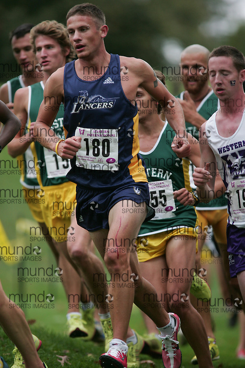 London, Ontario ---10-09-25--- Lionel Sanders  of the Windsor Lancers competes at the the 2010 Western International Cross Country meet in London, Ontario, September 28, 2010..GEOFF ROBINS Mundo Sport Images