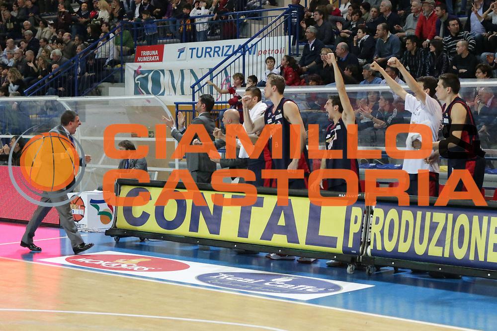 DESCRIZIONE : Frosinone Lega Basket A2  eurobet 2012-13  Prima Veroli Novipi&ugrave; Casale Monferrato<br /> GIOCATORE : Giulio Griccioli team<br /> CATEGORIA : esultanza mani sequenza<br /> SQUADRA : Novipi&ugrave; Casale Monferrato<br /> EVENTO : Lega Basket A2  eurobet 2012-13 <br /> GARA : Prima Veroli Novipi&ugrave; Casale Monferrato<br /> DATA : 18/11/2012<br /> SPORT : Pallacanestro <br /> AUTORE : Agenzia Ciamillo-Castoria/ M.Simoni<br /> Galleria : Lega Basket A2 2012-2013 <br /> Fotonotizia : Frosinone Lega Basket A2  eurobet 2012-13  Prima Veroli Novipi&ugrave; Casale Monferrato<br /> Predefinita :