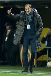 18.02.2016, Signal-Iduna-Stadion, Dortmund, GER, UEFA EL, Borussia Dortmund vs FC Porto, Sechzehntelfinale, Hinspiel, im Bild Trainer Thomas Tuchel (Borussia Dortmund) // during the UEFA Europa League Round of 32, 1st Leg match between Borussia Dortmund and FC Porto at the Signal-Iduna-Stadion in Dortmund, Germany on 2016/02/18. EXPA Pictures © 2016, PhotoCredit: EXPA/ Eibner-Pressefoto/ Schueler<br /> <br /> *****ATTENTION - OUT of GER*****