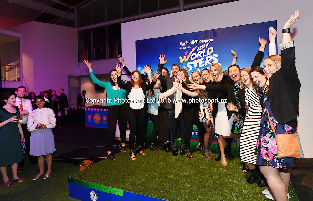 World Masters Games 2017. 6 months to go event concept and celebrations. WMG2017. The Cloud, Auckland, New Zealand, Thursday 20 October 2016. © Copyright photo: Andrew Cornaga / www.photosport.nz