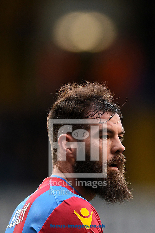A bearded Joe Ledley of Crystal Palace during the FA Cup match between Tottenham Hotspur and Crystal Palace at White Hart Lane, London<br /> Picture by Richard Blaxall/Focus Images Ltd +44 7853 364624<br /> 21/02/2016
