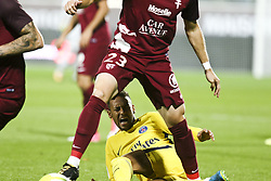 September 8, 2017 - Paris, France - Da Silva Santos Junior Neymar in action during the French Ligue 1 match between FC Metz and Paris Saint Germain (PSG) at Stade Saint-Symphorien on September 9, 2017 in Metz, France. (Credit Image: © Elyxandro Cegarra/NurPhoto via ZUMA Press)