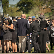 FRIDAY, FEBRUARY 16- 2018---NORTH LAUDERDALE, FLORIDA--<br /> Family and Friends attend the  funeral service for Alyssa Miriam Alladeff, 14, a victim of the school massacre at Marjory Stonemason Douglass High School.<br /> (Photo by Angel Valentin/FREELANCE)
