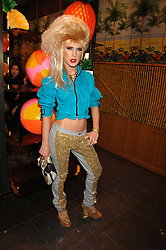 JODIE HARSH at a party hosted by Mulberry to celebrate the publication of The Meaning of Sunglasses by Hadley Freeman held at Mulberry 41-42 New Bond Street, London on 14th February 2008.<br />