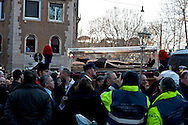 Rome, Italy. 5th Febraury 2016<br /> The relic of St. Pio of Pietrelcina in procession from the Church of San Salvatore in Lauro to go to the Vatican. The St. Pio of Pietrelcina were called to Rome by Pope Francis as symbol of the Mercy Jubilee.