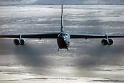 B-52H low-level bomb run