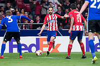 Atletico de Madrid Juanfran Torres during Europa League match between Atletico de Madrid and FC Copenhague at Wanda Metropolitano in Madrid , Spain. February 22, 2018. (ALTERPHOTOS/Borja B.Hojas)