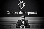 Leder of Forza Italia party minority, Mr Raffaele Fitto press conference